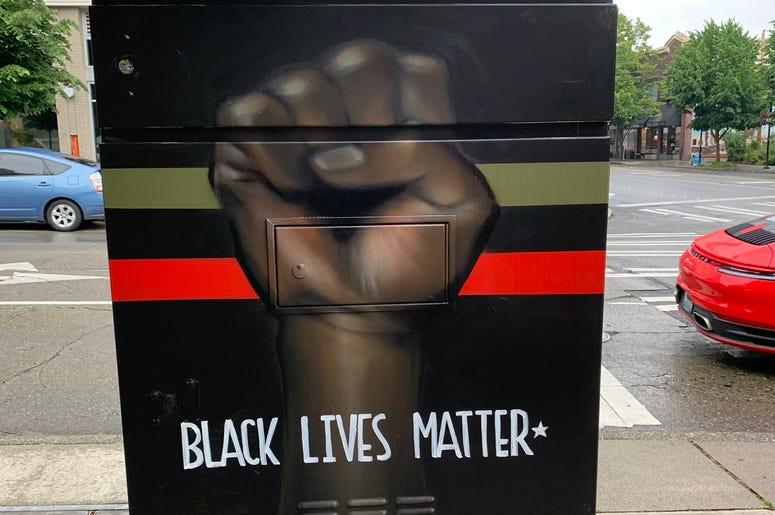 Black Lives Matter West Seattle
