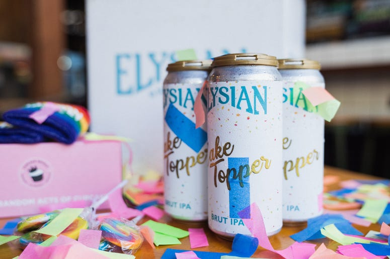 Elysian Brewing Company Cake Topper