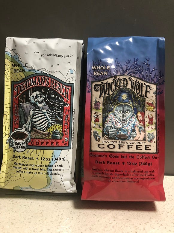 Raven Brew coffee