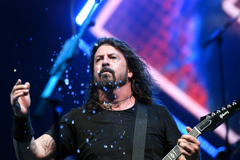 Dave Grohl of the Foo Fighters performs at Coral Sky Amphitheater.