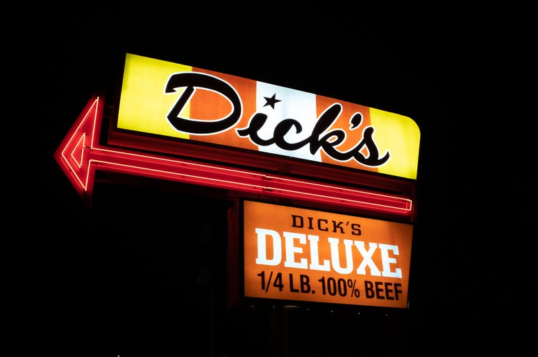 Dick's Drive In Sign