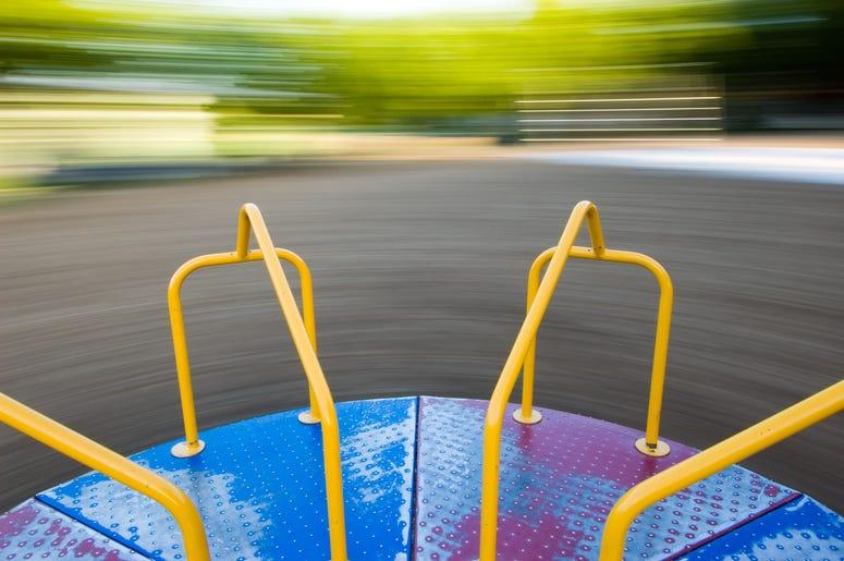 Playground dizziness