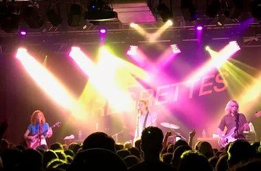 Music venue crowd