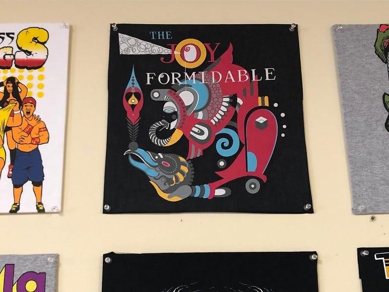 Joy Formidable tee