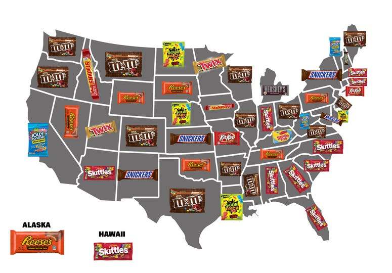 candy map
