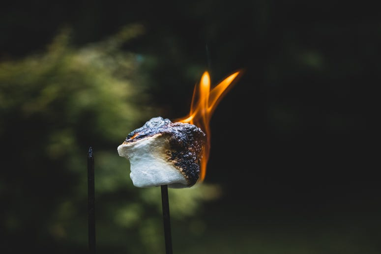 Roasting marshmallow