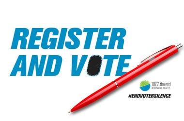 Register and vote November 3rd