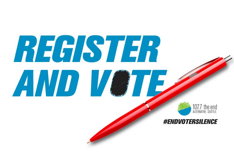Register and vote November 3rd