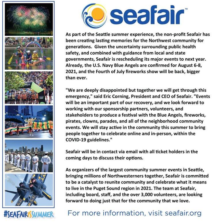 seafair letter