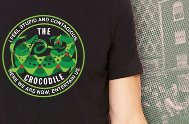The Crocodile benefit tee