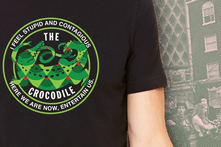 The Crocodile benefit tee