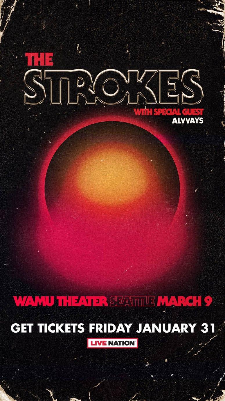 KNDD Strokes Promo Art