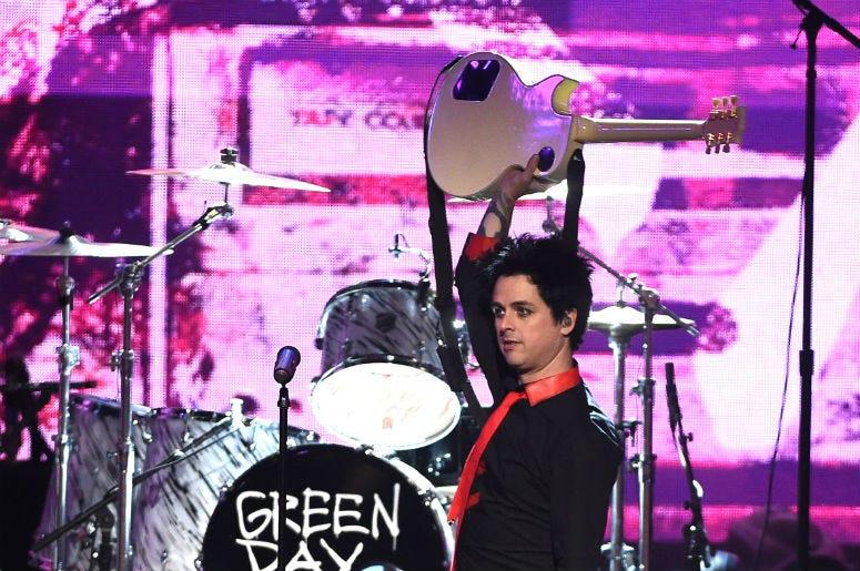 Billie Joe Armstrong of Green Day