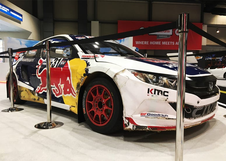 Seattle International Auto Show Rally Car