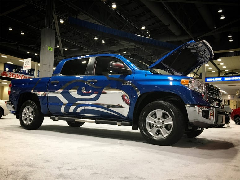 Seattle International Auto Show - Seahawks Tundra
