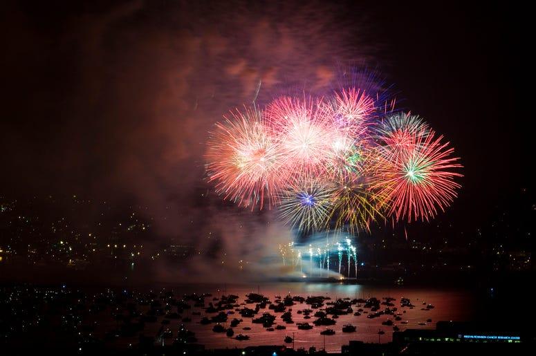 Family Fourth Fireworks