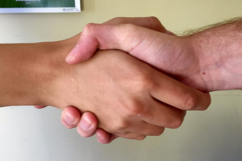 Super Secret Handshake