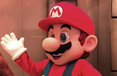It's Mario!