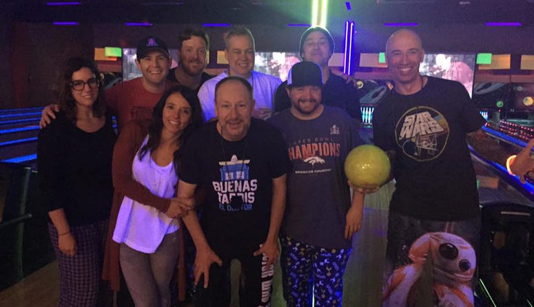The End and KISW bowling teams unite!