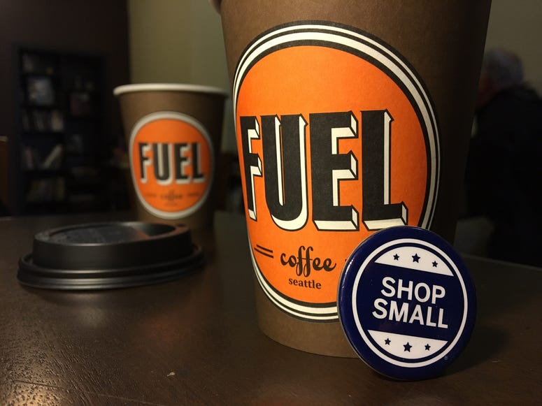 Small Business Saturday - Fuel Coffee