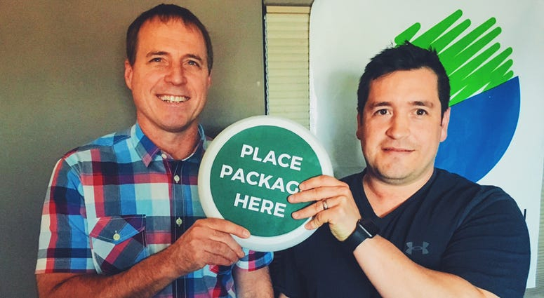 Mike and Justin of The Package Guard