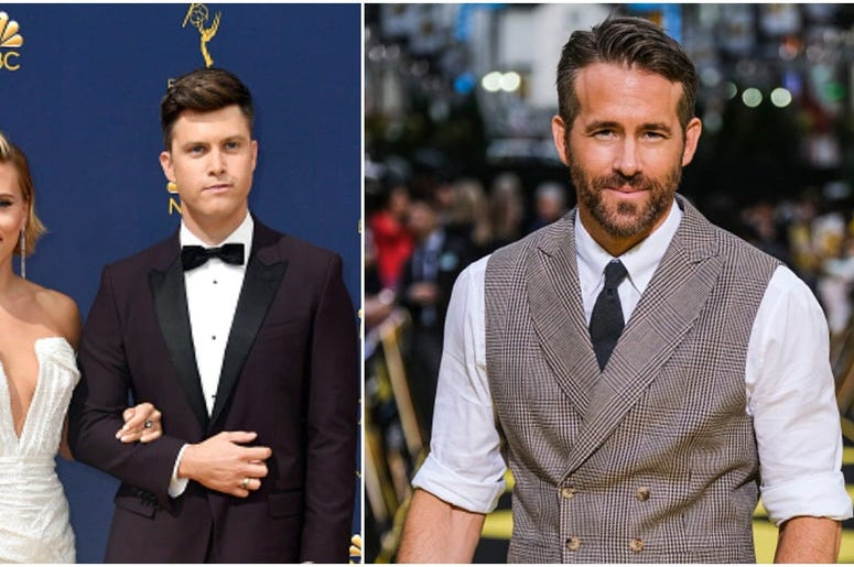 Colin Jost And Ryan Reynolds Had No Problem On Snl 107 7 The End Alternative Seattle