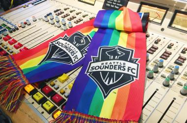 Seattle Sounders FC Pride March