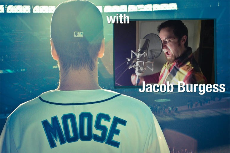 So, You're In Seattle... Jacob Burgess, Voice Actor