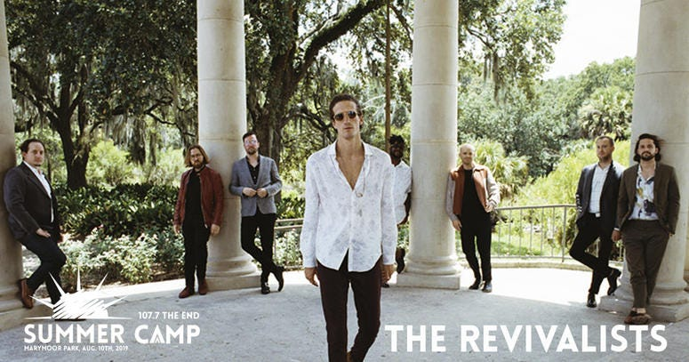 The Revivalists at The End Summercamp 2019