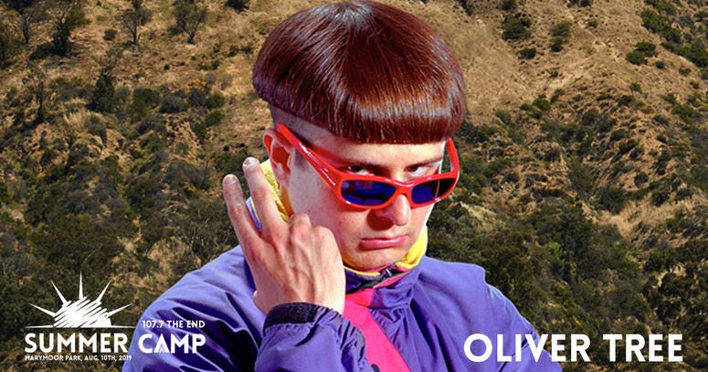Oliver Tree at The End Summercamp 2019