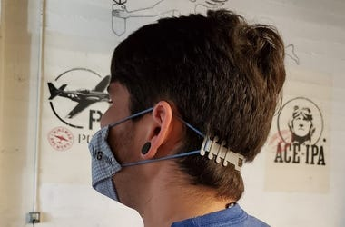 Medical mask headbands
