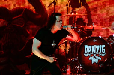 Musician Glenn Danzig performs at the 5th Annual Revolver Golden Gods Award Show at Club Nokia on May 2, 2013