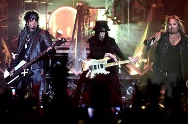 11/6/2015 - Motley Crue performing at Wembley Arena, London.