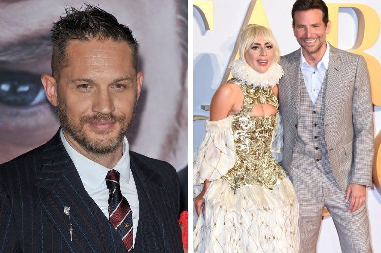 Tom Hardy, Lady Gaga & Bradley Cooper