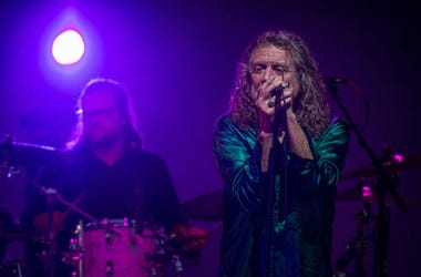 Robert Plant plays an outdoor live concert as ROBERT PLANT AND THE SENSATIONAL SPACE SHIFTERS