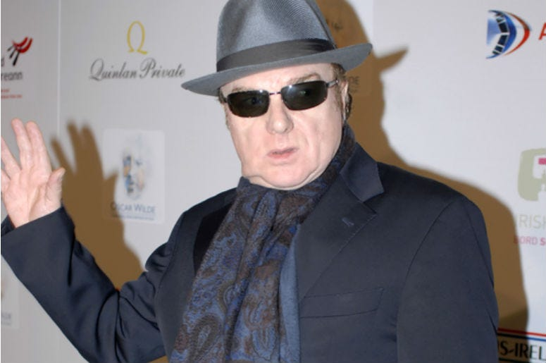 Van Morrison at the US-Ireland Alliance event honoring Van Morrison.