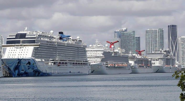 cruise ships, coronavirus, sports