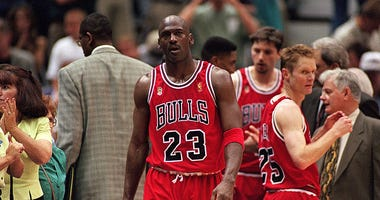Michael Jordan, The Last Dance, Chicago Bulls, ESPN, NBA, Dirt and Sprague, KFXX-AM
