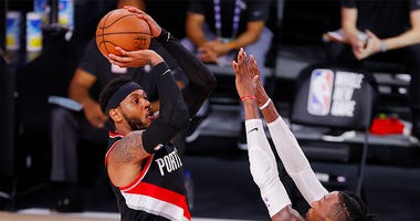 Portland Trail Blazers, Carmelo Anthony, NBA, bubble, basketball, Ben Golliver, Dirt and Sprague, 1080 The FAN, KFXX-AM
