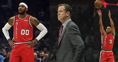Trail Blazers, CJ McCollum, Terry Stotts, Carmelo Anthony, NBA
