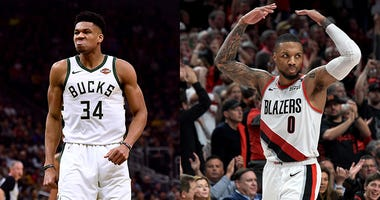 Portland Trail Blazers, NBA, Damian Lillard, Gianis Antetokounmpo, Dusty and Cam in the Morning, 1080 The FAN, KFXX-AM