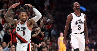 Damian Lillard, Patrick Beverley, Portland Trail Blazers, Los Angeles Clippers, NBA, Dusty and Cam in the Morning, 1080 The FAN, KFXX-AM