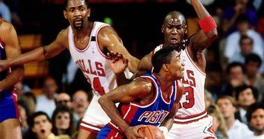 Michael Jordan, Isiah Thomas, Chicago Bulls, The Last Dance, Dirt and Sprague, KFXX-AM