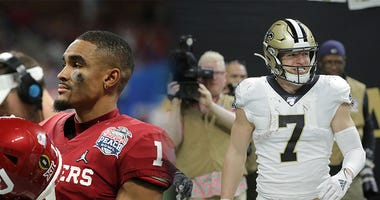 Jalen Hurts, Taysom hill, Philadelphia Eagles, New Orleans Saints, NFL, Primetime with Isaac and Suke, KFXX-AM