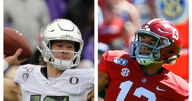 Justin Herbert, Tua Tagovailoa, San Diego Chargers, Miami Dolphins, NFL, Dirt and Sprague, KFXX-AM
