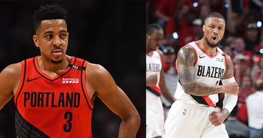 Damian Lillard, CJ McCollum, Evan Turner, Portland Trail Blazers, NBA, Dirt and Sprague, KFXX-AM