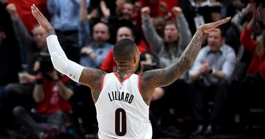 Damian Lillard, Portland Trail Blazers, Zach Collins, Jusuf Nurkic, NBA, coronavirus, Dirt and Sprague, 1080 The FAN, KFXX-AM