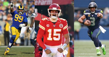 NFL, ESPN, Draft, current players, Aaron Donald, Patrick Mahomes, Russell Wilson, Dirt and Sprague, 1080 The FAN, KFXX-AM