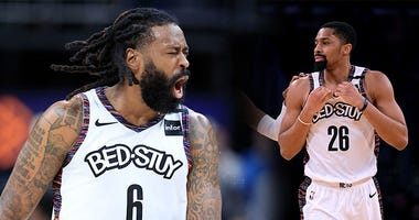 DeAndre Jordan, Spencer Dinwiddie, NBA, basketball, coronavirus, Dusty and Cam in the Morning, 1080 The FAN, KFXX-AM