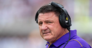 Ed Orgeron, LSU football, college football, coronavirus, Dusty and Cam in the Morning, 1080 The FAN, KFXX-AM